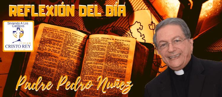 Padre Pedro Nuñez - ¡CONOZCA PRIMERO SU FE CATÓLICA  -  El sacramento del bautismo nos infunde un sello para toda la vida.