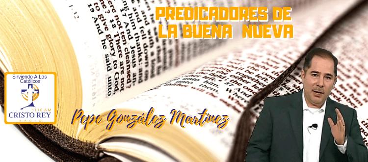 Pepe González Martínez, del Instituto Bíblico Católico de Guadalajara - Día de Reyes - Palabras de Vida