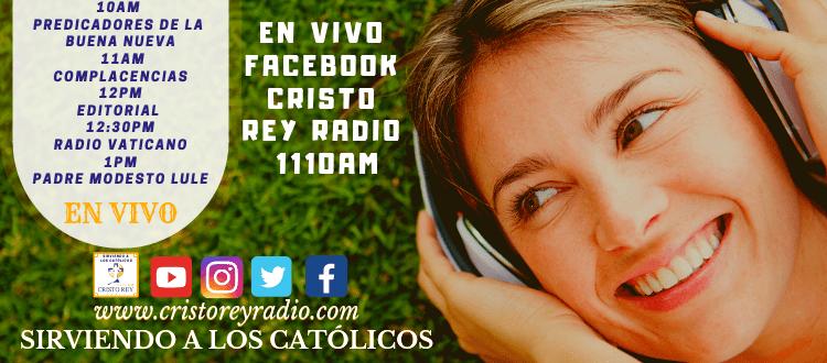 Cristo Rey Radio En Vivo  Miercoles 23 Enero 10:00am a 2pm