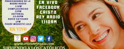 Cristo Rey Radio En Vivo  Jueves 17 Enero  10am a 2pm