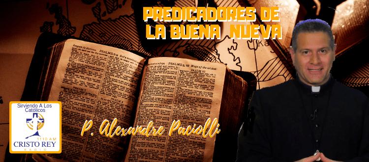 P. Alexandre Paciolli - Perdón y Reconciliación.