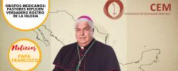 Obispos mexicanos: pastores reflejen verdadero rostro de la Iglesia
