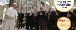 Papa: dentro de un año la apertura de los archivos sobre Pío XII