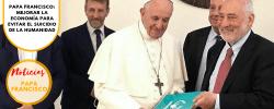 Papa Francisco: Mejorar la economía para evitar el suicidio de la humanidad
