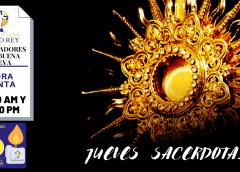 Hora Santa con Oración de Sanación Pbro Dilson Salinas y Ministerio Dei Verbum