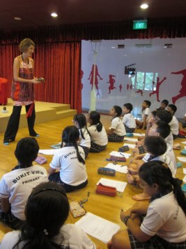 Bukit View Primary School author visit-5