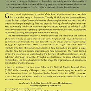 The Methamphetamine Industry in America: Transnational Cartels and Local Entrepreneurs (Critical Issues in Crime and Society)