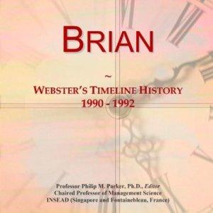 Brian: Webster's Timeline History, 1990 - 1992