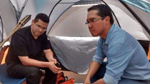 Ariel Varela y Miguel Briceño iniciaron la huelga de hambre a las 11 de la mañana en las carcanìas de Casa Presidencial