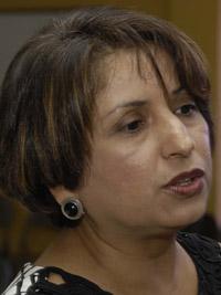 Nora Urbina fiscal de la niñez-