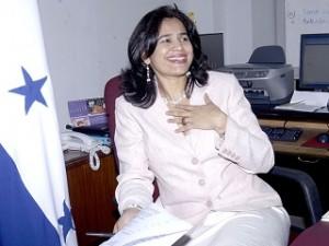 Rixi Moncada,  ex gerente de la ENEE en gobierno de Manuel Zelaya.