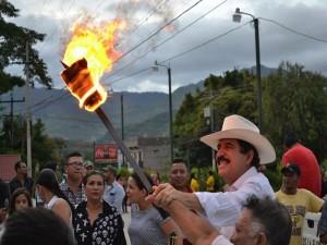 El partido Libertad y Refundación es una de las cosas positivas de la lucha del pueblo hondureño según Álvaro Cálix.