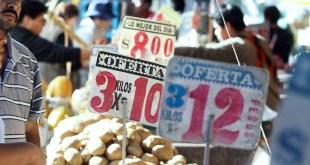 Canasta básica en Hidalgo, por debajo de la media nacional