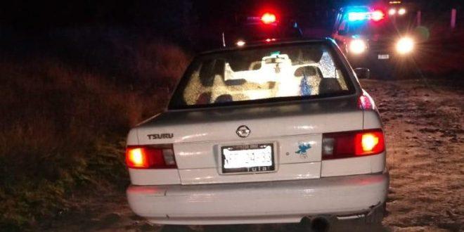 El cuerpo de un hombre baleado fue localizado en un taxi