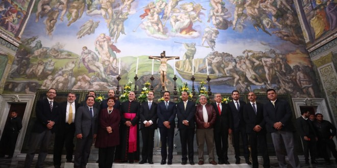 Inauguran réplica de Capilla Sixtina en el Ben Gurión de Pachuca