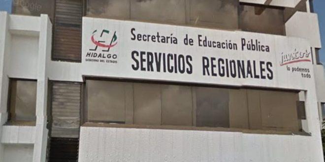 Saquean oficinas de la SEPH en Tulancingo: se llevan aparatos electrónicos