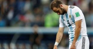 Amargo fin del Pipita con Argentina
