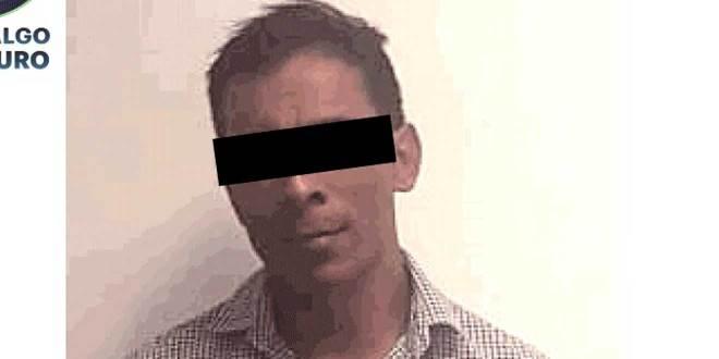 Detienen en Tizayuca a un violador que era buscado en Puebla