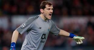 Sufrió Iker Casillas un infarto durante el entrenamiento del Porto