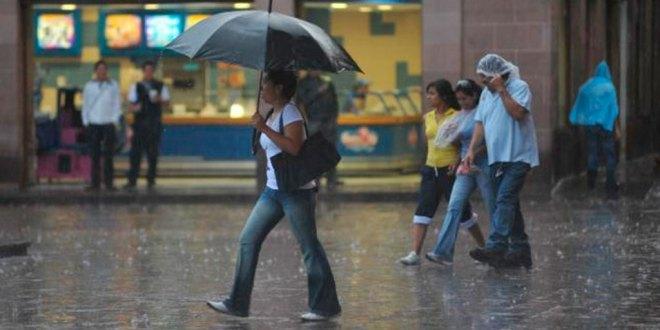 Aumentan posibilidades de lluvia para este jueves en Hidalgo