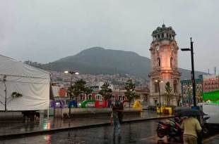 Se esperan lluvias aisladas y fuertes vientos este lunes en Hidalgo