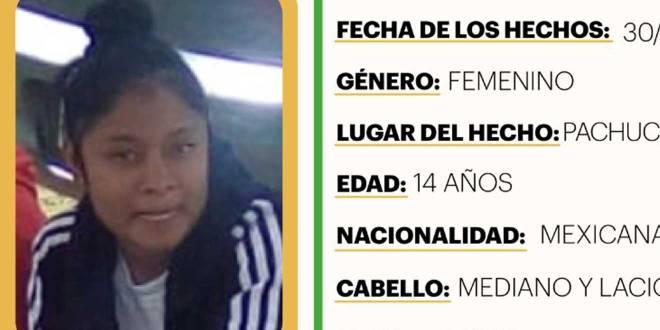 Activan Alerta Amber en favor de Mariana Cristal Hernández Bernal
