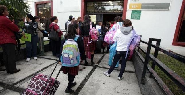 En Hidalgo, mañana volverán a clases un millón 25 mil alumnos
