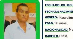 Se busca a Faustino Carpio Hernández, desapareció en Cd. Sahagún