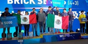 Ganan torneo de robótica en China