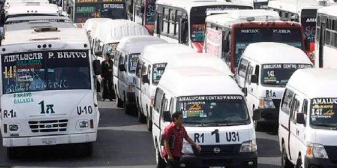 Aumenta costo del transporte en Edomex
