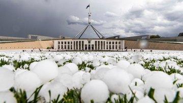 Así fueron las fuertes granizadas que se registraron en Australia
