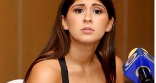 la esgrimista Paola Pliego