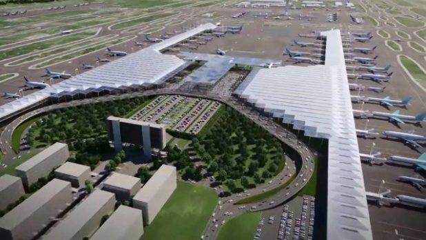 Por aeropuerto, analiza Semot reordenamiento de transporte en Tizayuca