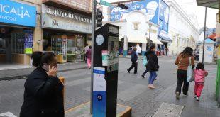 Vuelven a funcionar 30 parquímetros del centro de Pachuca