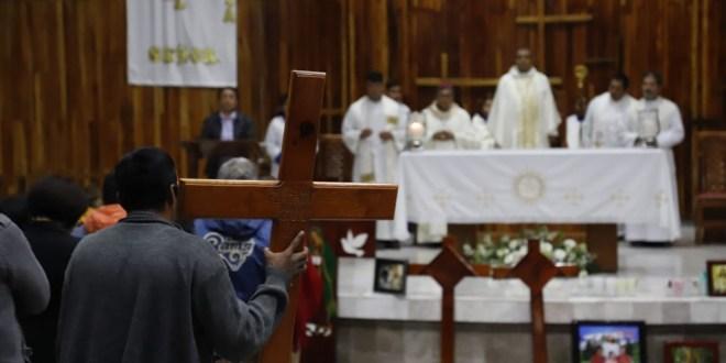 Llama arzobispo a unión para superar la tragedia de Tlahuelilpan