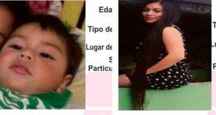 Se busca a Tania Vega y su hijo Zuriel, desaparecieron en Metzquititlán