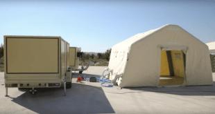Proyectan hospital-carpa por llegada del coronavirus a la CDMX
