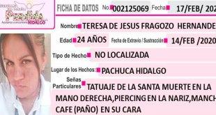 Teresa de Jesús Fragozo Hernández