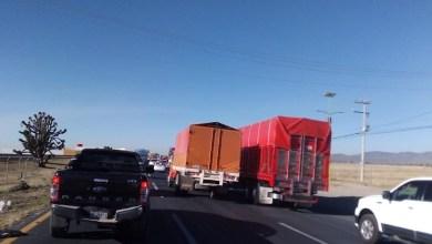 Transportistas se manifestarán en la México-Pachuca y otras vías de Hidalgo