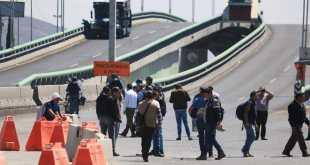 Tras cinco horas de bloqueo, manifestantes reabren el bulevar Colosio
