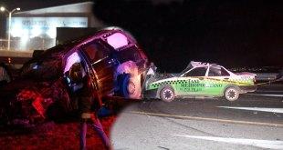 Deja accidente un muerto y cuatro lesionados en la México-Pachuca