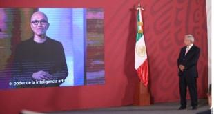 Invertirá Microsoft en México: mil 100 millones de dólares en 5 años