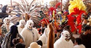 Música y alegría en el Encuentro de Carnavales en Agua Blanca