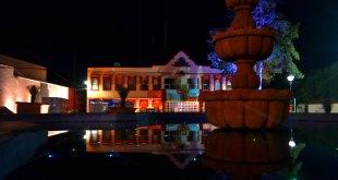 Encienden la luz en el centro histórico de Tepeapulco