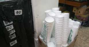 Restricción de plástico, negocio de vendedores: edil