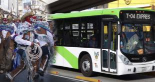 Este será el operativo del Tuzobús por los carnavales en Pachuca