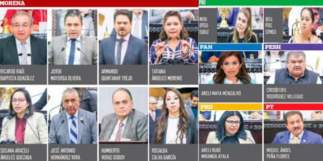 La actual legislatura de Hidalgo es la que ha tenido más chapulines