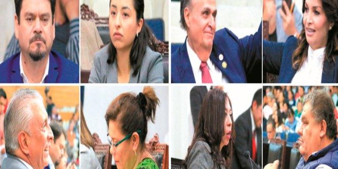 Se destapan los primeros legisladores chapulines en Hidalgo