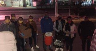 Empresas de Hidalgo continúan enviando donativos a hospital inflable