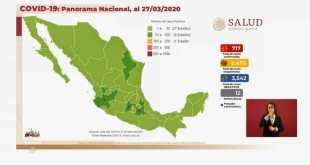 México/Covid-19/coronavirus/casos